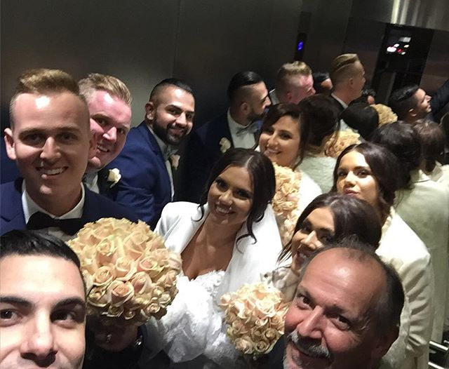 Wedding Party Selfie! _corinajezercic