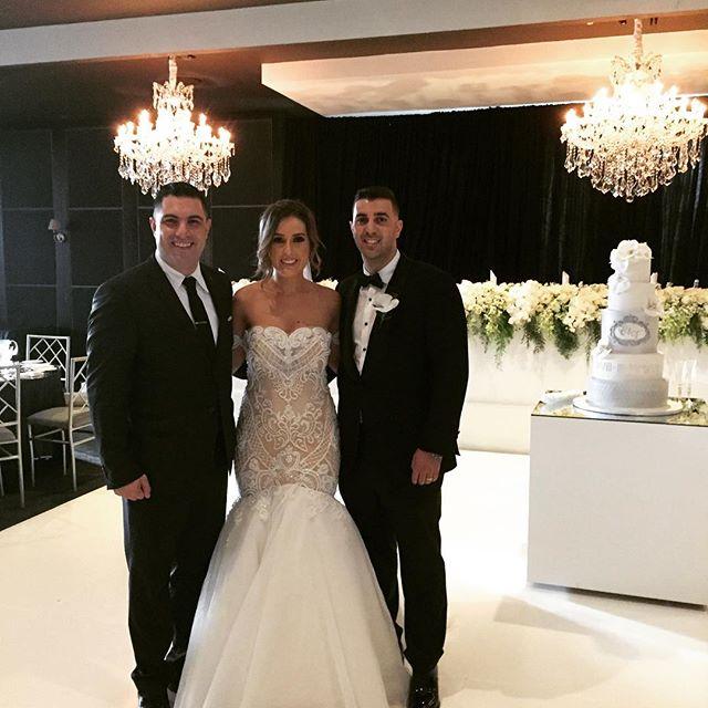 Congratulations to Vincenzo & Christina Palumberi on your beautiful wedding. You both look wonderful