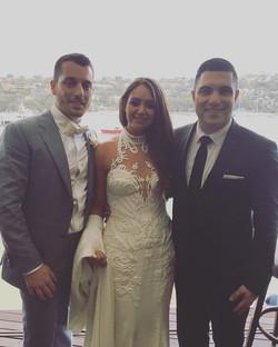 Tonight it was a pleasure to host the wedding of my good friends. Congratulations Rob & Rachela Cava