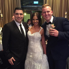 Congratulations to Corina and Derrek Skupian on an unforgettable wedding and thank you for