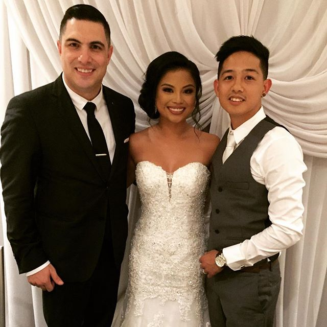 Tonight I had the pleasure of meeting and hosting the wedding of Brent & Jamilyn DeVega