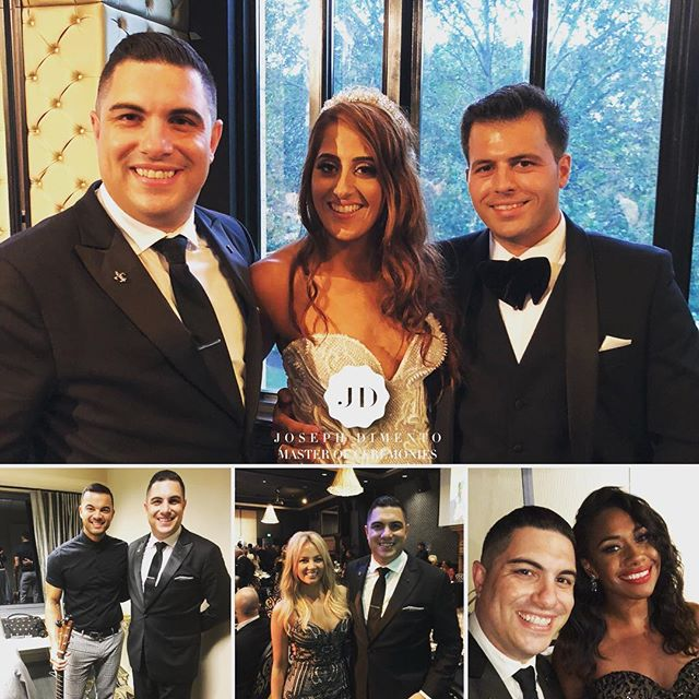 I was recently honoured to host the spectacular wedding of Mark Vincent & Stefanie Riccio