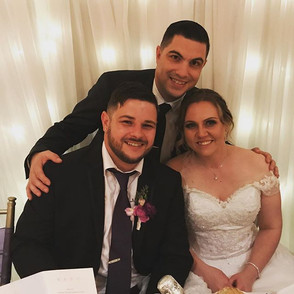 Congratulations to Daniel & Jessica Ner on your beautiful wedding and thank you for allowi