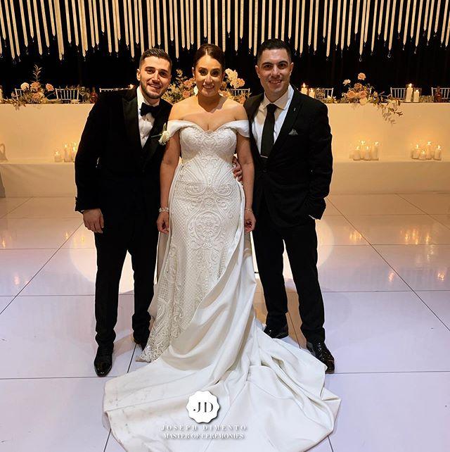 Congratulations to Tony & Cassandra Waki