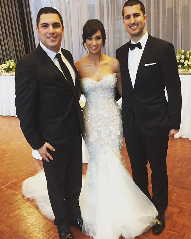 Tonight I had the pleasure to host the fantastic wedding of Natalia & Nathan Gargarco