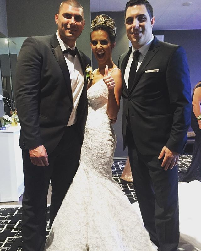 It was an absolute pleasure to host the wedding of Adrian & Rihannan Napoleone