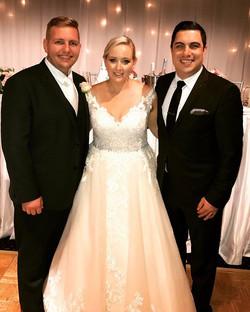 Tonight I have the pleasure of hosting the wedding of Jess & Paul Mlozniak. Congratulations & Thank