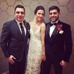 Congratulations to the beautiful bride and groom Daria & Michel Boutros on your wonderful wedding an