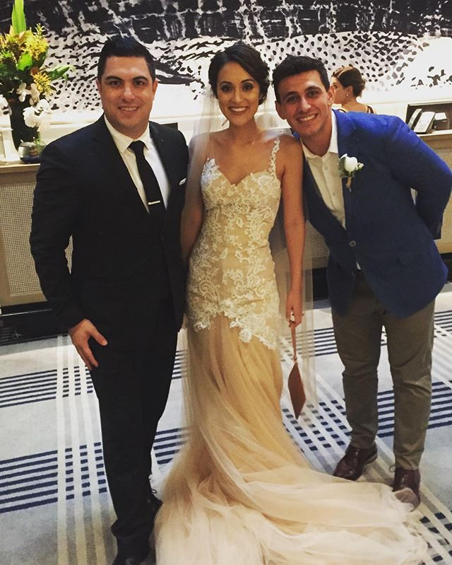 Congratulations to my dear friends Adrian & Veronica Espulso on your magnificent wedding and thank y