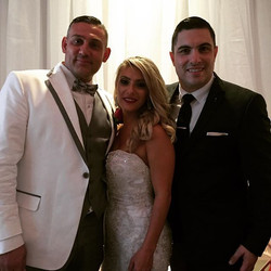 I would like to congratulate my dear friends Angelo & Maria Torrisi on their spectacular wedding _le