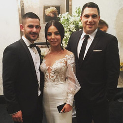 Congratulations to Hargop & Salpi Markarian on your wedding. Thank you for allowing me to be your ma