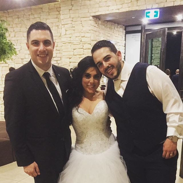 Congratulations to my good friends Xrysouka & Mathew Ayoub on their wild wedding and thank you for a