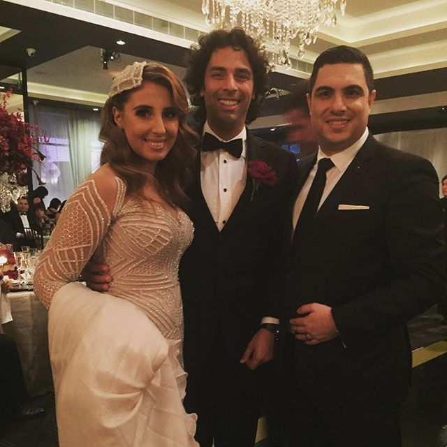 It is with great honour and pleasure I congratulate Giuseppe & Deanah Renda on their fabulous weddin