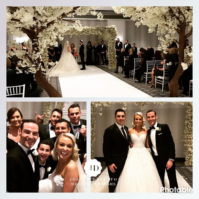 What a party tonight for the wedding of Michael & Jessica Glikman. You both looked amazing