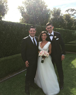 Congratulations to Danielle & Andrew Elias on their spectacular wedding and thank you for allowing m