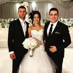 Tonight I have the honour of hosting the wedding of Joel & Nicole Azzopardi