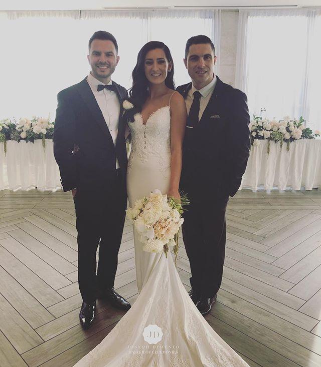 Congratulations to Marijan & Liana Zdril