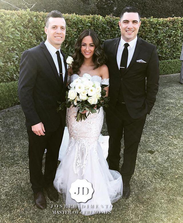 Congratulations Leonard & Carolina Gullo on your fantastic wedding & thank you for choosing me to be