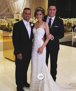 Congratulations to Michael & Christina Xuereb on your spectacular wedding. It was an honour to host