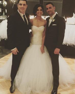Congratulations to Arthur & Amie Dimitrakopoulos on their wonderful wedding. It was a plea