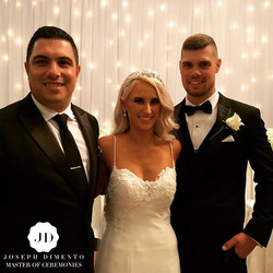 Congratulations the Chad & Zoe Lombardo on your wonderful wedding. You both looked spectacular and s