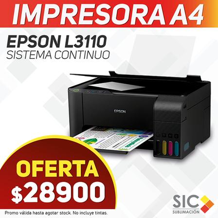 IMPRESORA EPSON L3110 A4