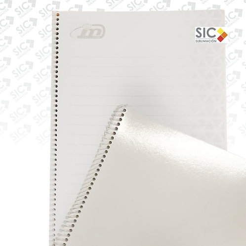 Cuaderno anillado A4 Rayado de 50 hojas