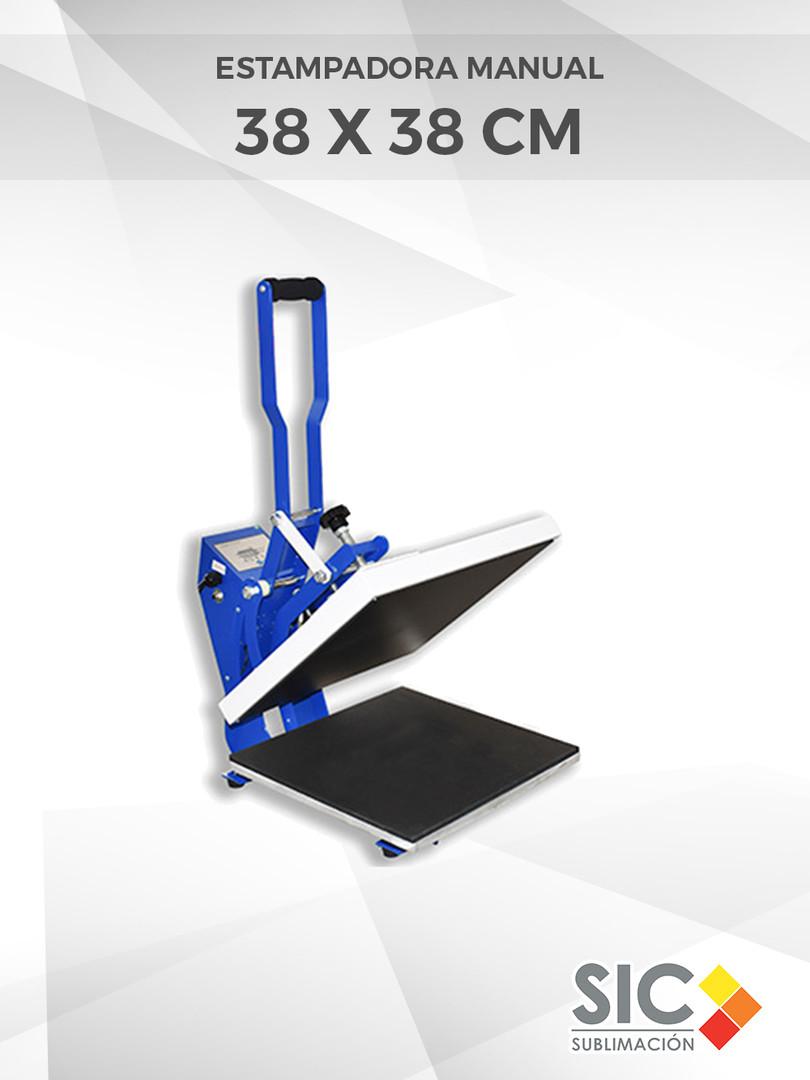 Estampadora manual 38 X 38 cm