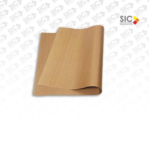 Papel teflonado 60x40 cm