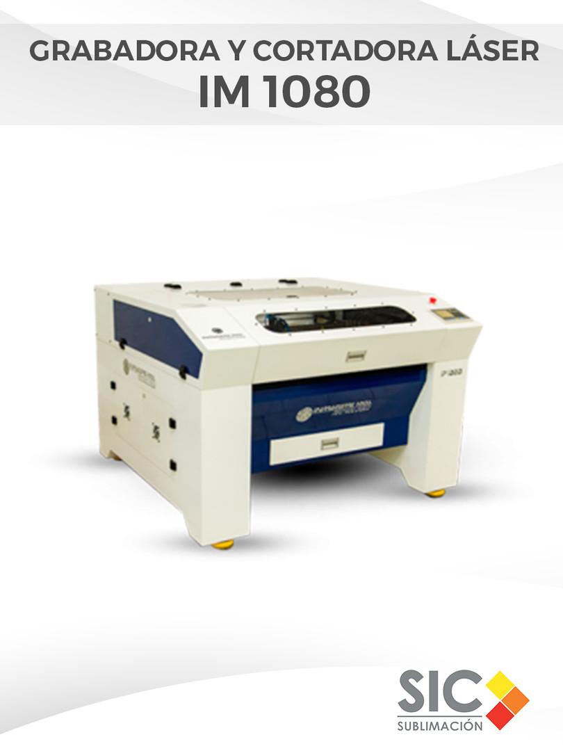 Grabadora y Cortadora láser IM 1080