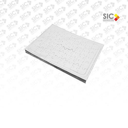 Rompecabezas A4 54 piezas - PACK X 10