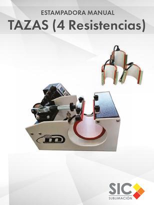 Estampadora de Tazas (Resistencias rectas y cónicas)