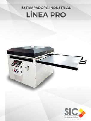 Estampadora industrial Línea PRO