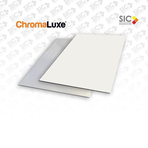 Chapa metálica 29x41cm Chromaluxe