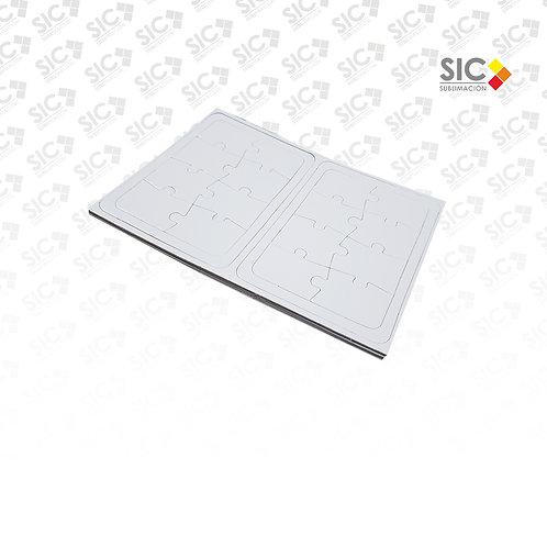 Rompecabezas A5 8 piezas - PACK X 10