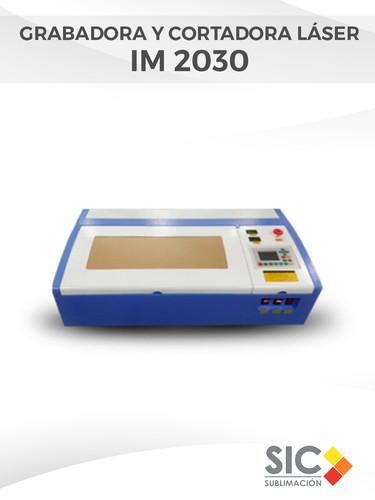 Grabadora y Cortadora láser IM 2030