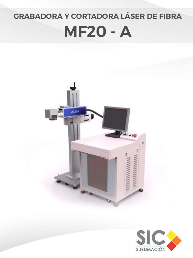 Grabadora y Cortadora láser de fibra MF20 - A