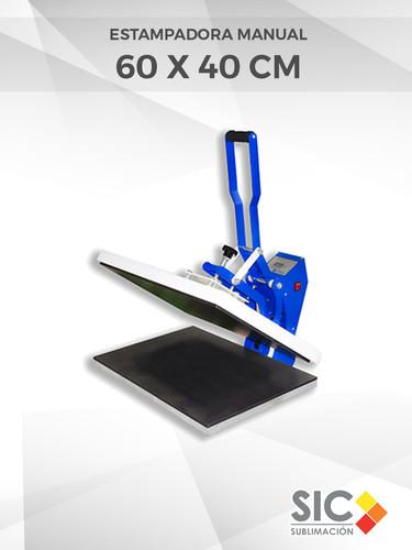 Estampadora manual 60 X 40 cm