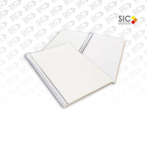 ANOTADOR GRANDE/ Cuaderno A5 LISO