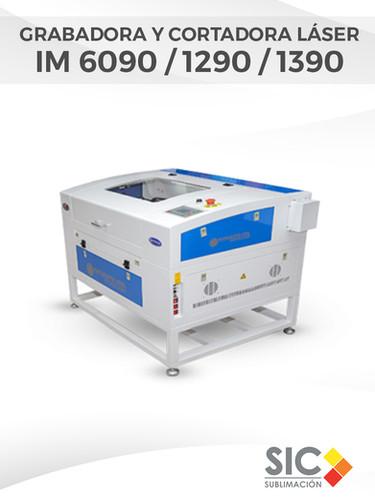 Grabadora y Cortadora láser IM 6090-1290-1390