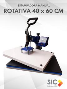 Estampadora Manual 40x60