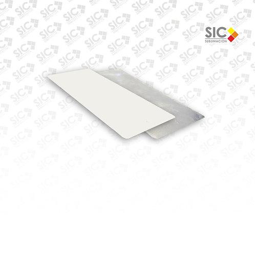 Chapa metálica 29 x10cm flexible