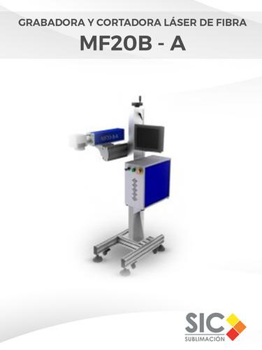 Grabadora y Cortadora láser de fibra MF20B - A