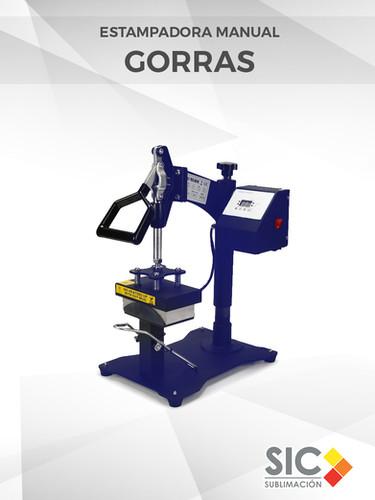 Estampadora manual de Gorras