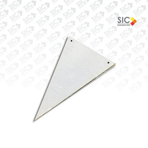 Banderín triangular con hilo - PACK X 14 UNIDADES
