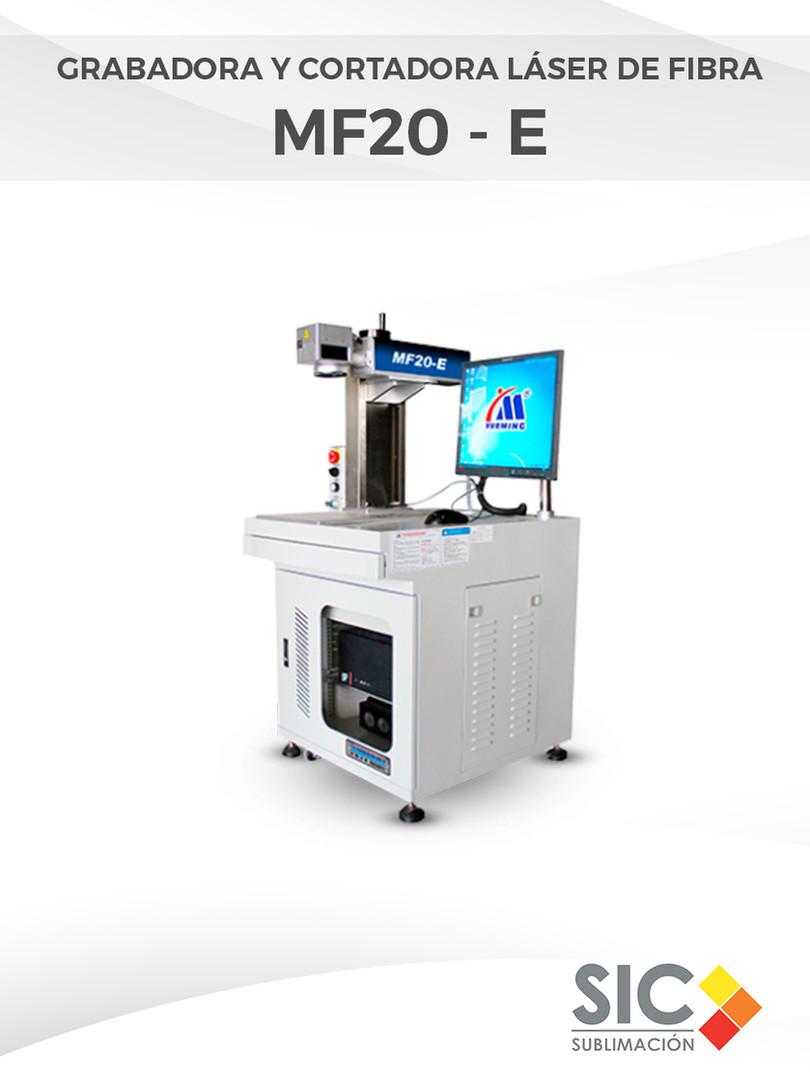 Grabadora y Cortadora láser de fibra MF20 - E.