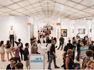 ART BASEL WEEK : 40 DAYS UNTIL THE 28th EDITION OF ART MIAMI