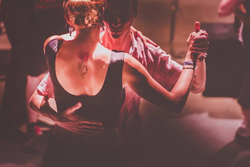 Socially dancing in Paris - Photo by Petar Pavlov