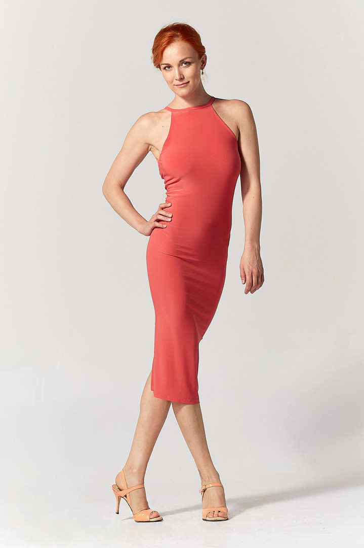 Tango dress modelling for TangoinStyle by Serpil Topuz, Turkey