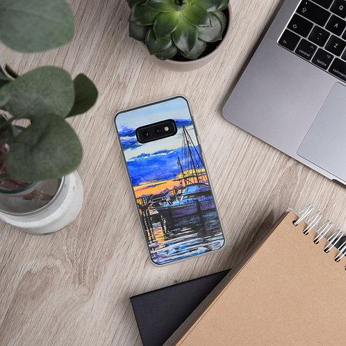 Sunset on the Marina: Samsung Case
